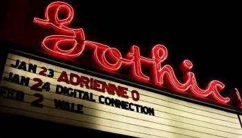 Gothic Theatre, Fri Jan 23 2015