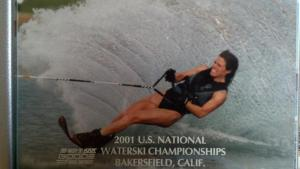 I won Nationals in 2001, in the 25-35 Women's Slalom division.