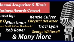4th Annual Songwriter and Music Business Awards Concert (FREE)